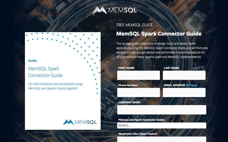 MemSQL Spark Connector Guide