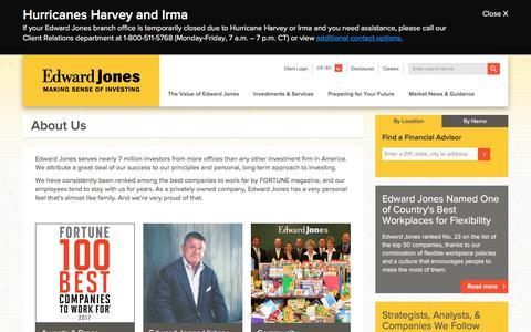 About Us   Edward Jones
