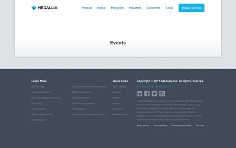 Events - Medallia