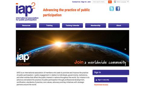 International Association for Public Participation