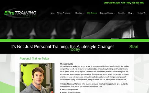 Elite Personal Trainers | Elite Training