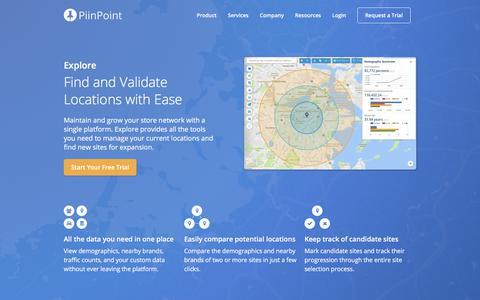 PiinPoint Explore
