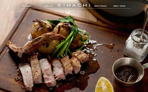 Screenshot of Home Page kihachi.jp - キハチ | KIHACHI - captured Sept. 19, 2014