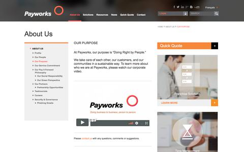 Our Purpose | Payworks