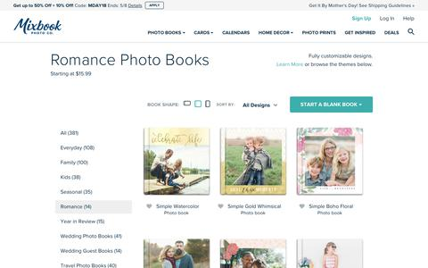 Love Photo Albums and Romantic Photo Books for Couples | Mixbook