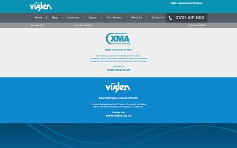 Screenshot of Login Page viglen.co.uk - Viglen Ltd - PCs, Notebooks, Servers, Storage, Software, Peripherals, Services, Support and more . . . - captured Nov. 5, 2017