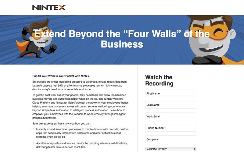 "Extend Beyond the ""Four Walls"" of the Business"