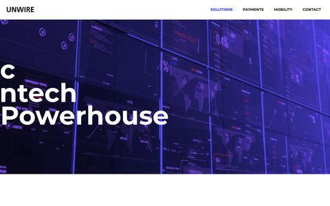 Screenshot of Home Page unwire.com - Unwire - captured Sept. 22, 2018