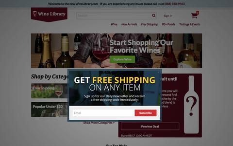 Home Page | Wine Library