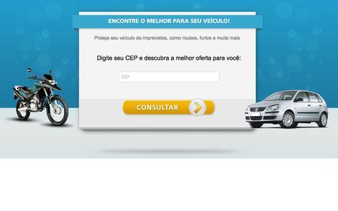 Screenshot of Home Page melhor-seguro-auto.com - Seguro Auto - captured Sept. 22, 2014