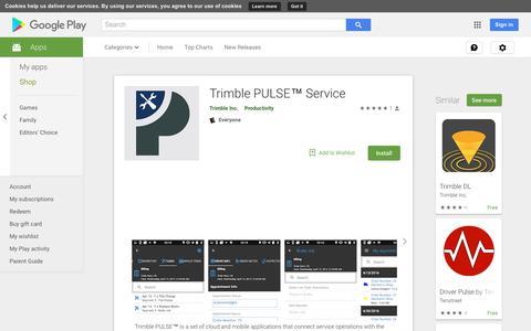 Trimble PULSE™ Service - Apps on Google Play