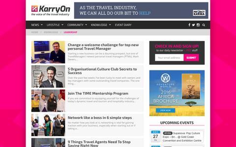 Screenshot of Team Page karryon.com.au captured Nov. 23, 2015