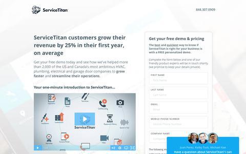 ServiceTitan - Home Services Software
