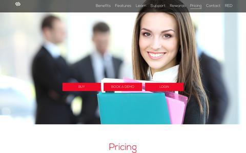Screenshot of Pricing Page realestatedynamics.com.au - Pricing | Redlinx - captured July 11, 2017