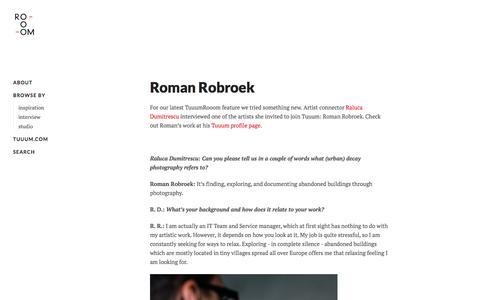 Screenshot of Blog tuuum.com - Tuuum Rooom - captured Feb. 26, 2016