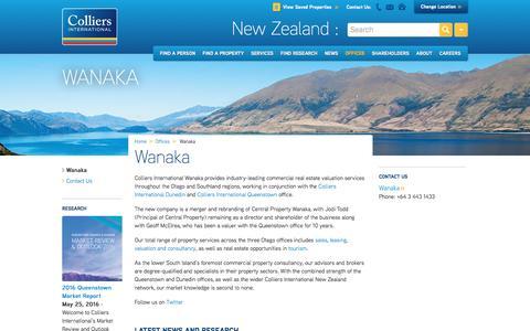 Wanaka Office | New Zealand | Colliers International