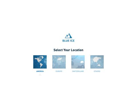 Screenshot of Support Page blueice.com - SUPPORT - BlueIce - captured Nov. 6, 2018