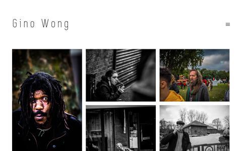 Screenshot of Home Page gsa-is.nl - Gino Wong - Photography / UI Design - captured Sept. 26, 2018