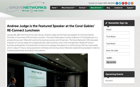 Grove Networks - News and Events | IT Support - Miami | Grove Networks