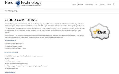 Cloud Computing - AWS