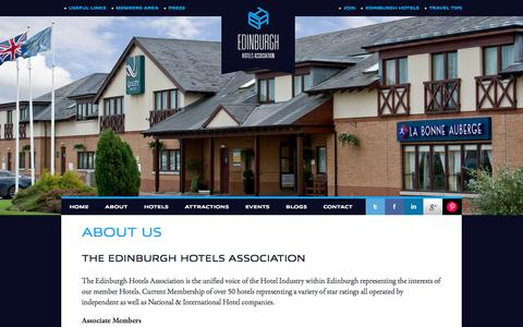 Screenshot of About Page stayinedinburgh.net - Edinburgh Hotels Association, best hotels in Edinburgh, cheap Edinburgh hotel accommodation, Edinburgh hotel - captured March 4, 2016