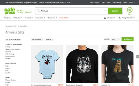 Animals Gifts & Merchandise | Animals Gift Ideas & Apparel - CafePress