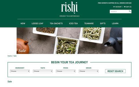 Sale: Rishi Tea