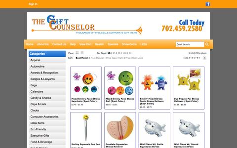 Screenshot of Team Page giftcounselor.com - The Gift Counselor   Las Vegas  Promotional Products - People - captured Oct. 7, 2014
