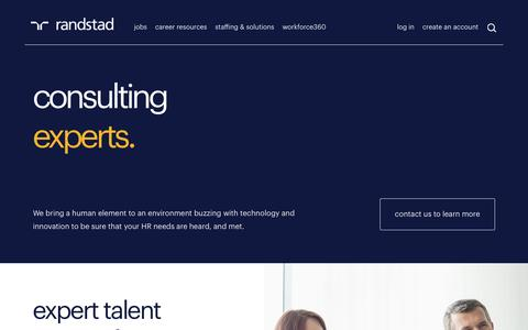 HR & Technology Consulting | Randstad USA
