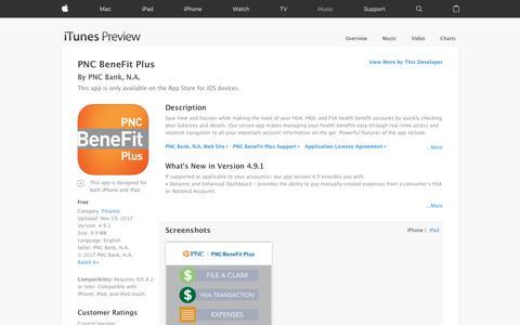 PNC BeneFit Plus on the App Store