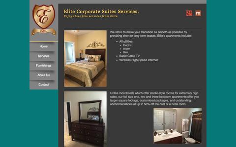 Screenshot of Services Page elitecorporatesuites.com - Services at Elite Corporate Suites, Inc. | Nashville, TN - captured Nov. 5, 2016