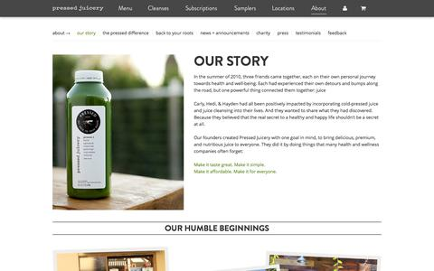 About Pressed Juicery | Cold Press Juicing Cleanse