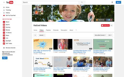 ViaCord Videos  - YouTube