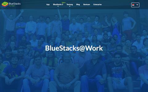Screenshot of Jobs Page bluestacks.com - Karir di Bluestacks! - captured Aug. 17, 2017