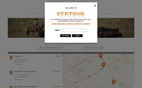 Boots Store Locator | Stetsons Western Hats & Boots | Stetson.com
