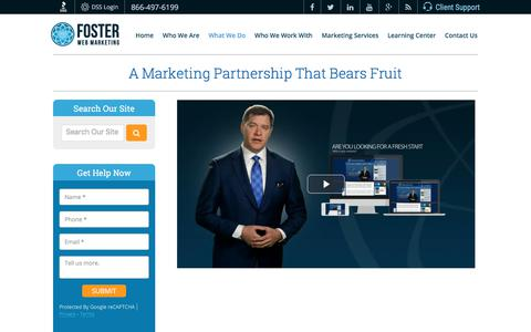 Law Firm Marketing Company Services | Foster Web Marketing