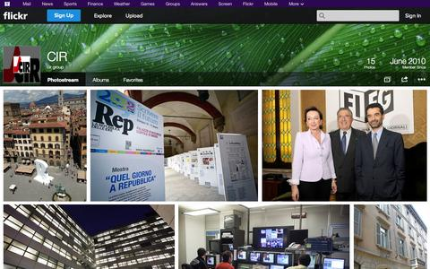 Screenshot of Flickr Page flickr.com - Flickr: cir group's Photostream - captured Oct. 22, 2014