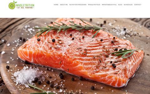 Screenshot of Pricing Page wholetrition.com - Nutrition & Nutrition Programs Colts Neck & Holmdel,Brunswick & Red Bank, NJ, Marlboro & Manalapan | Wholetrition - captured Feb. 14, 2016