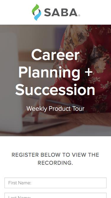 Product Tour - Creating your Own Path to Success