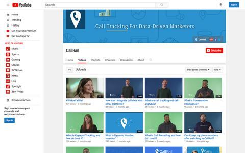 CallRail  - YouTube