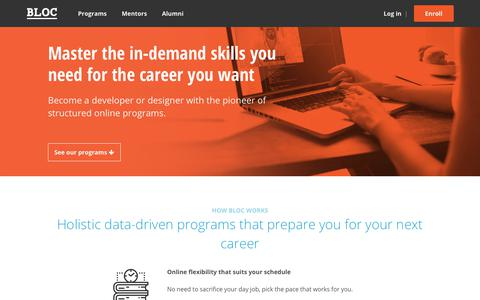Bloc   Online Coding Bootcamp for Developers and Web Designers