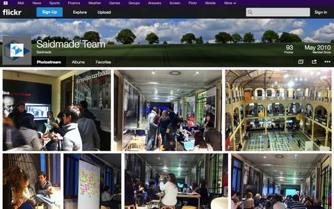 Screenshot of Flickr Page flickr.com - Flickr: Saidmade's Photostream - captured Oct. 23, 2014