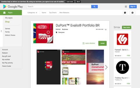 DuPont™ Evalio® Portfolio BR - Android Apps on Google Play