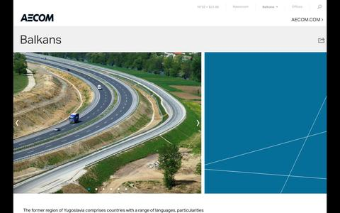 Balkans – AECOM Integrated Staging Site