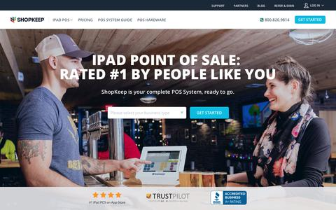 ShopKeep: iPad POS   Point of Sale System   Free Quote