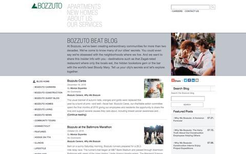 Bozzuto News
