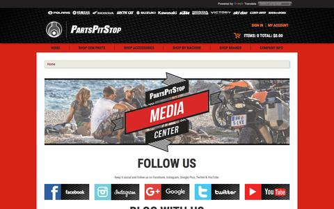 Screenshot of Press Page partspitstop.com - Check Out Parts Pit Stop's Media Center & Save! - captured Dec. 7, 2015