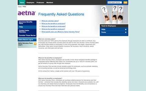 Frequently asked questions about voluntary benefits