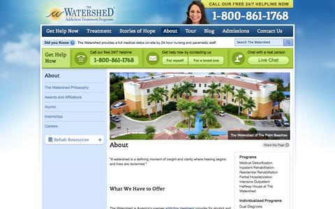 About - The Watershed |