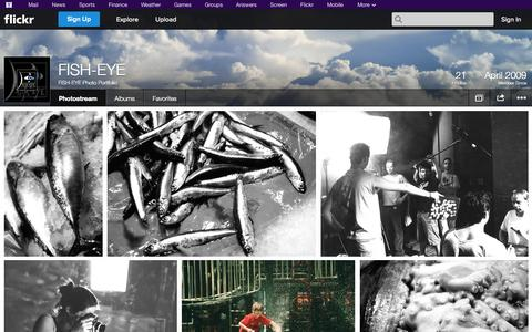 Screenshot of Flickr Page flickr.com - Flickr: FISH-EYE Photo Portfolio's Photostream - captured Oct. 23, 2014